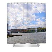 Fdr Mid Hudson Bridge - Poughkeepsie Ny Shower Curtain