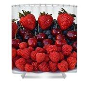 Feast Of Fruit Shower Curtain