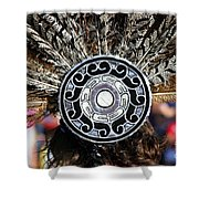 Feather Headdress Shower Curtain