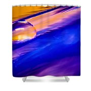 Feather Sunset Shower Curtain