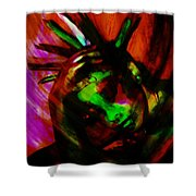 Feathers Have Texture Shower Curtain