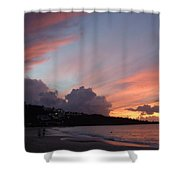 Feathers In The Sky Shower Curtain