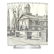February Morning  No Ctc102 Shower Curtain by Kip DeVore