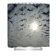 February Sky Shower Curtain