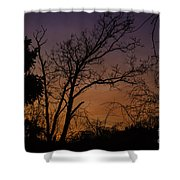 February Sunrise Shower Curtain