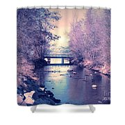 February Yearning Shower Curtain