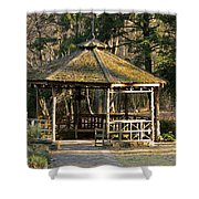 February's Gazebo 2013 Shower Curtain