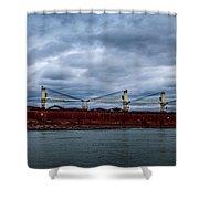 Federal Elbe Shower Curtain