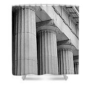 Federal Hall Columns Shower Curtain