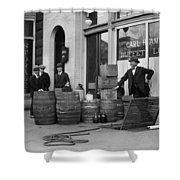 Federal Prohibition Agents 1923 Shower Curtain