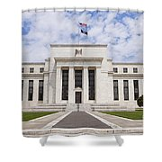 Federal Reserve Building No1 Shower Curtain