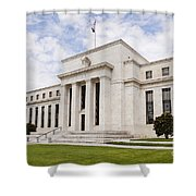 Federal Reserve Building No2 Shower Curtain