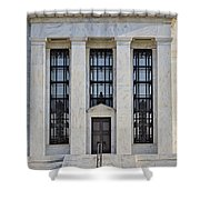 Federal Reserve Shower Curtain