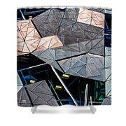 Federation Square Melbourne  Shower Curtain