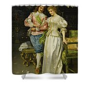 Betrothed Shower Curtain