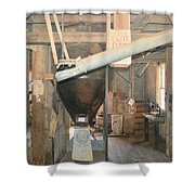 Feed Mill Shower Curtain