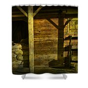Feed Mill Store Shower Curtain by Randall Nyhof