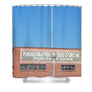 Feed Store Shower Curtain