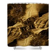 Feed The Beast Shower Curtain