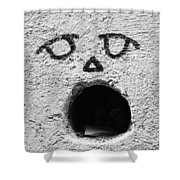 Feed The Walls  Shower Curtain