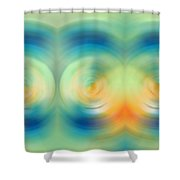 Feel Joy - Energy Art By Sharon Cummings Shower Curtain
