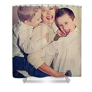 Feel The Joy Shower Curtain