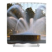 Feel The Mist Shower Curtain