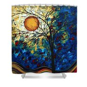 Feel The Sensation By Madart Shower Curtain
