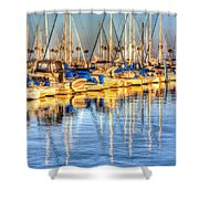 Feel The Warmth Shower Curtain