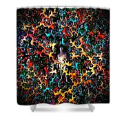 Feeling Exposed Shower Curtain