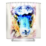 I Have This Terrible Sheep Feeling  Shower Curtain