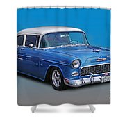 Feeling The Blues Shower Curtain