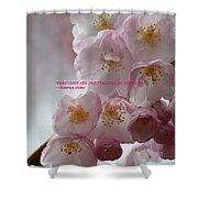 Feelings Of Flowers Shower Curtain