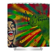 Fela Kuti Shower Curtain