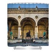 Feldherrnhalle Shower Curtain by John Wadleigh