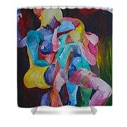 Female Art Shower Curtain
