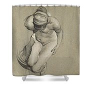 Female Nude  Shower Curtain