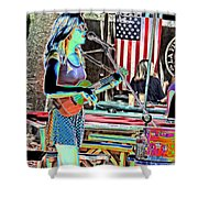 Female Performers Shower Curtain