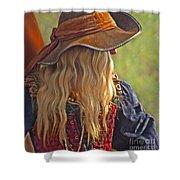 Female Pirate Shower Curtain