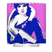 Femme Fatale Premeditated Spring Beauty Shower Curtain