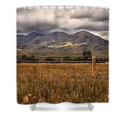 Fence View Shower Curtain