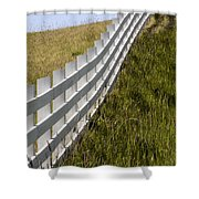 Fenced In Or Fenced Out Shower Curtain