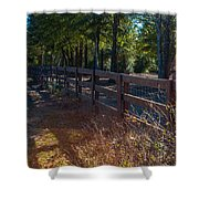 Fenceline 1 Shower Curtain