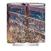 Fenceline 2 Shower Curtain