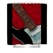 Fender-9644-fractal Shower Curtain