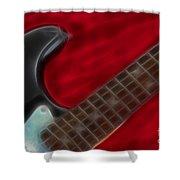 Fender-9657-fractal Shower Curtain