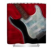 Fender-9668-fractal Shower Curtain