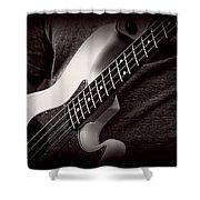Fender Bass Shower Curtain
