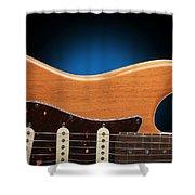 Fender Stratocaster Curves Shower Curtain