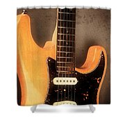Fender Stratocaster Electric Guitar Shower Curtain
